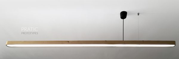 Frontlever- A Cantilever linear light by PRATIC™